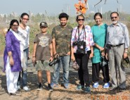 Birding at Sewri - 17 Feb 2015